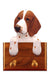 Welsh Springer Spaniel Dog Leash Holder