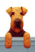 Welsh Terrier Dog Door Topper