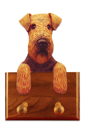 Welsh Terrier Dog Leash Holder
