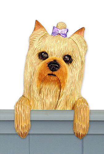 Yorkshire Terrier Dog Door Topper