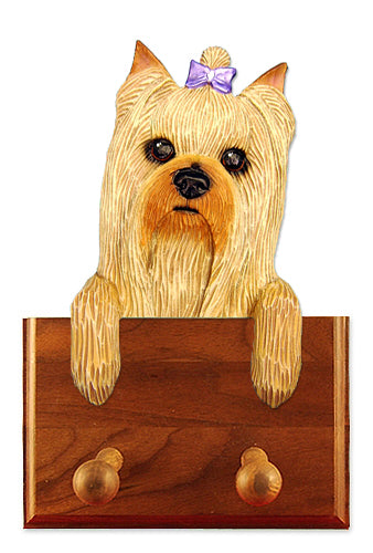 Yorkshire Terrier Dog Leash Holder