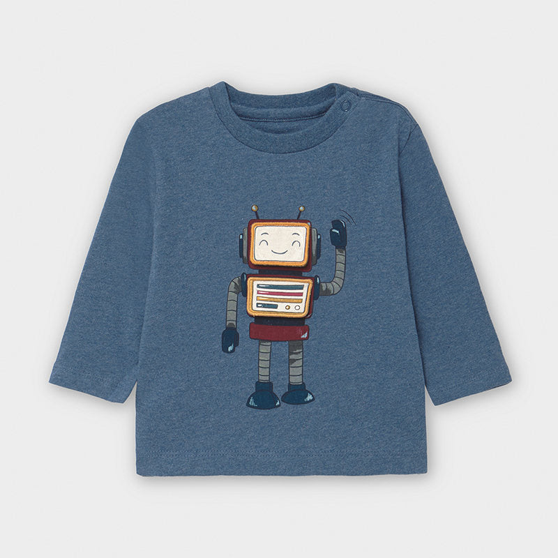 Long Sleeve Robot Shirt