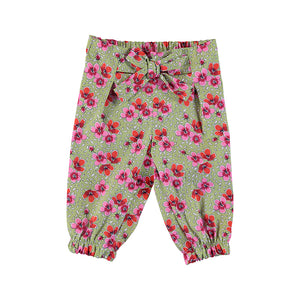 Floral Long Trousers