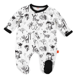 Animal Safari Footie