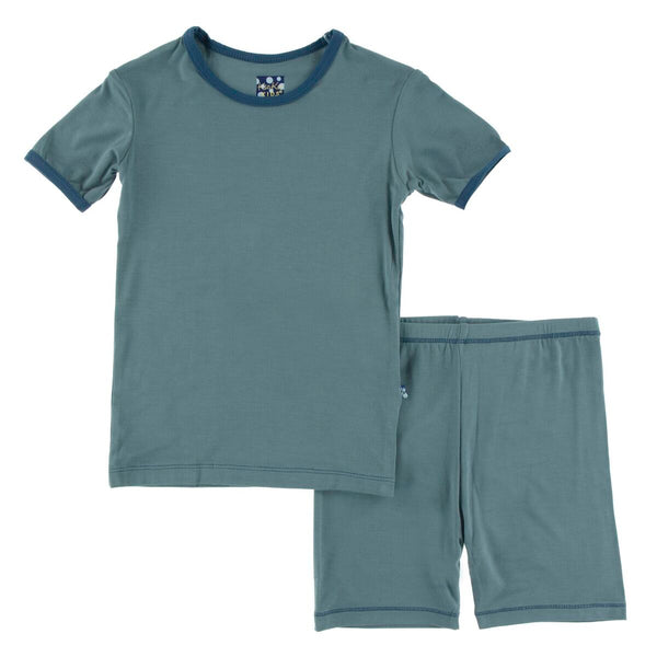 Dusty Sky with Twilight 2 piece pjs short set