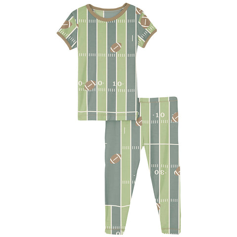 Football 2 Piece Pajama Set