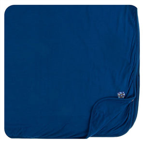 Navy Toddler Blanket