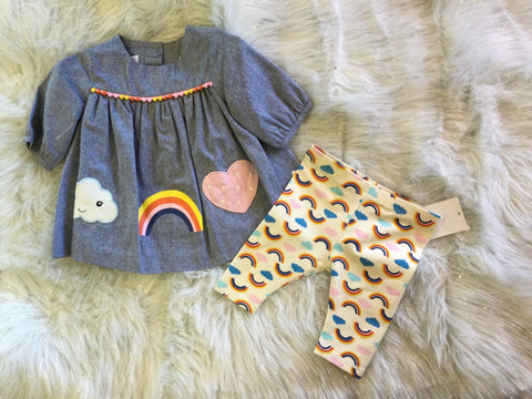 Chambray Rainbow Set