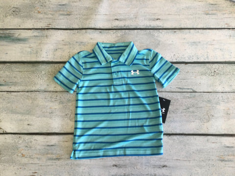 Bright Sky Stripe Polo