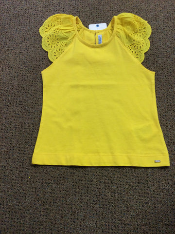 Amarillo Eyelet Tank top