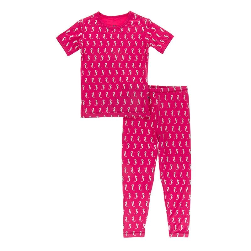 Prickly Pear Mini Seahorses 2 piece Pj Set