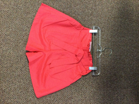 Light Weight Linen Shorts (pinky red color)