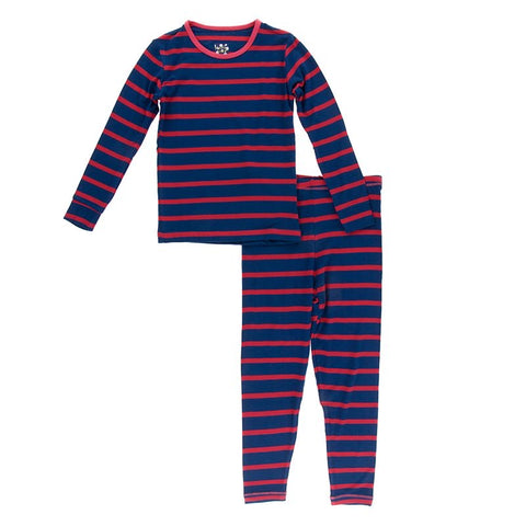 Everyday Heroes Navy Stripe Pajamas