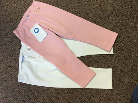 Basic Legging Set (pink and white)