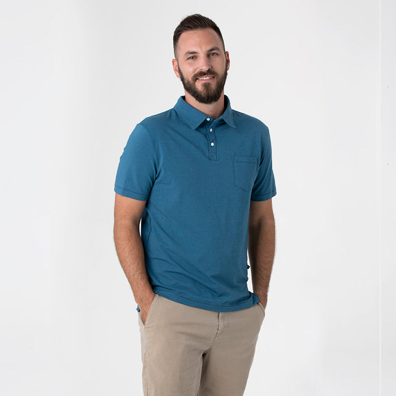 Men's Performance Polo Twilight  Short Sleeve