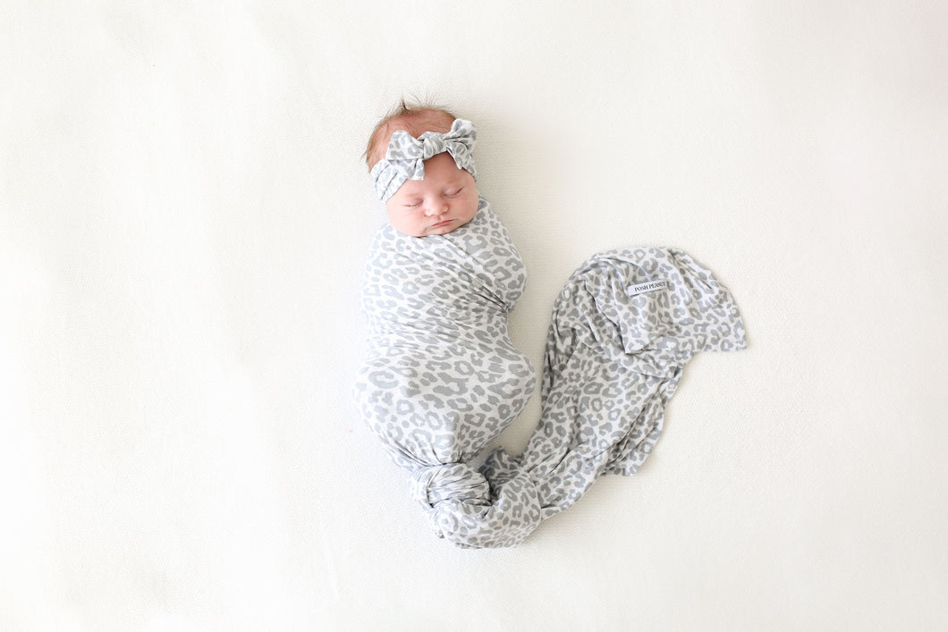 Minka Infant Swaddle and headwrap