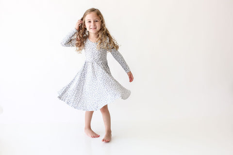 Minka Long Sleeve Twirl Dress