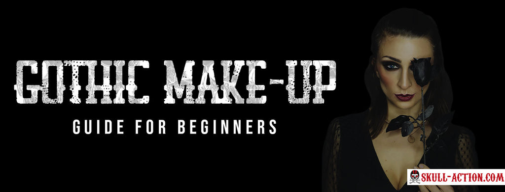 Gothic Make Up Tutorial For Beginners