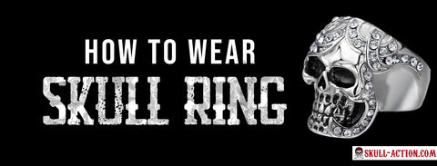 how to wear skull ring