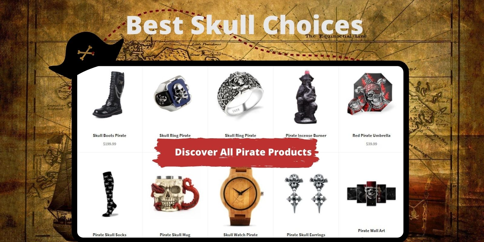 pirate skull products