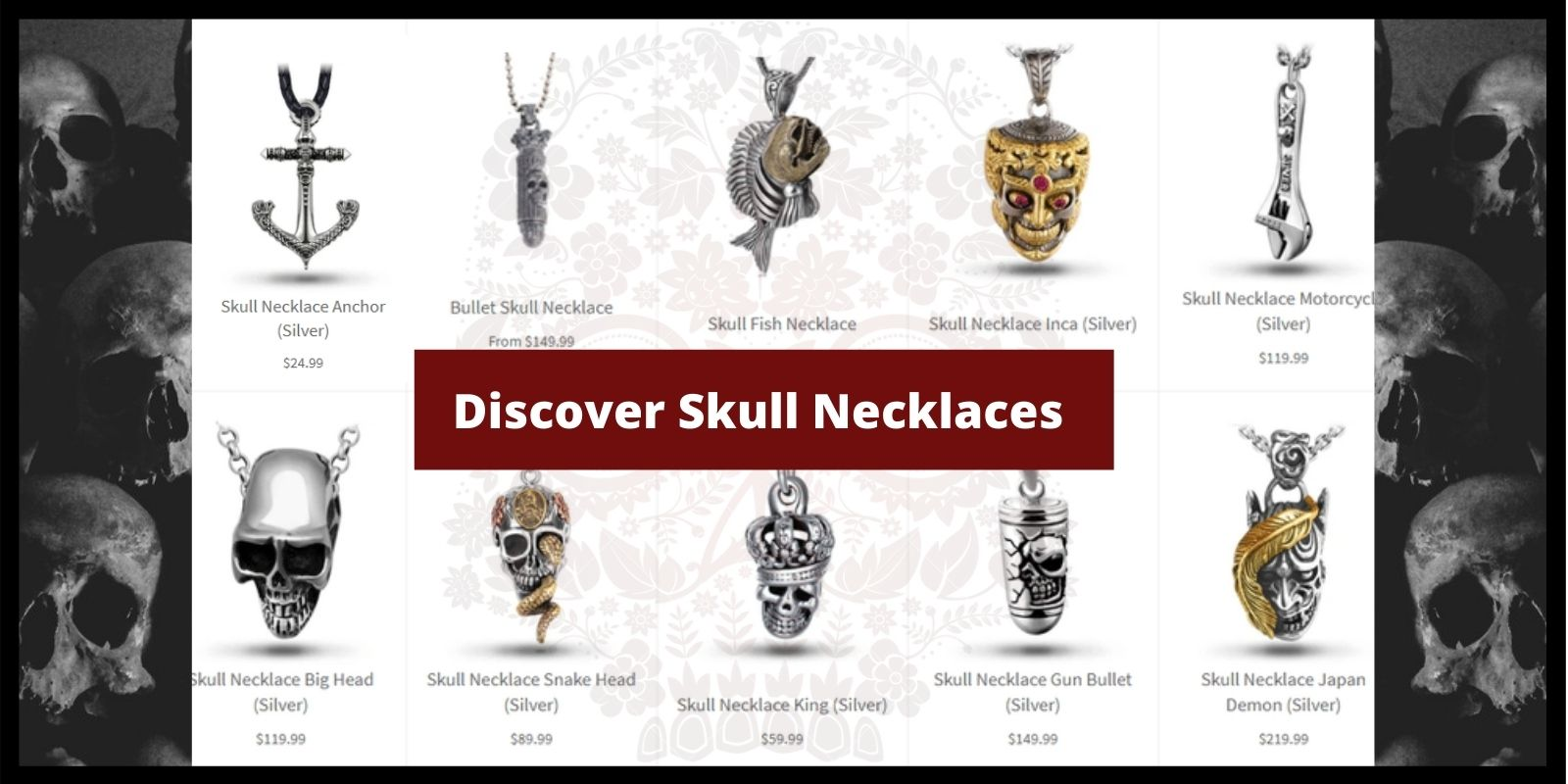 skull-necklaces