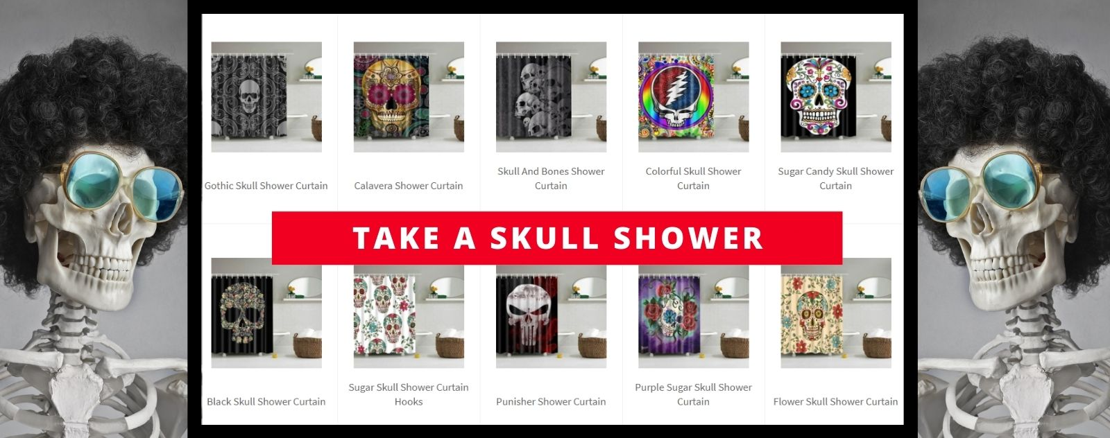 skull-shower-curtains