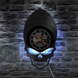 Alien Wall Clock | Skull Action