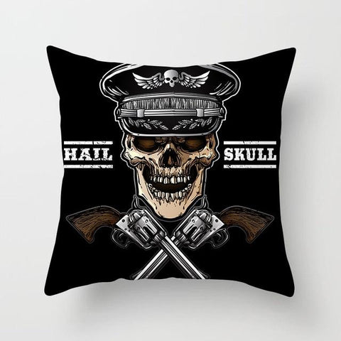 Army Skull Pillow