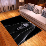 Big Grim Reaper Rug | Skull Action