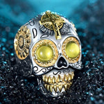 Big Sugar Skull Ring | Skull Action