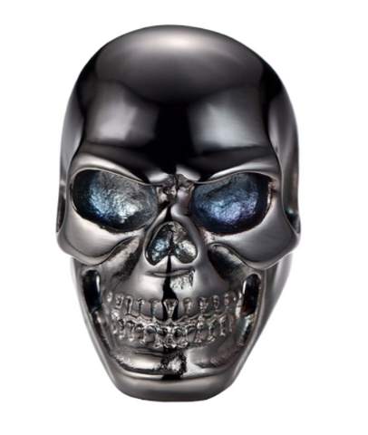 black skull ring mens