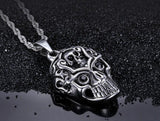 Brain And Skull Necklace | Skull Action