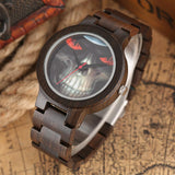 Brown Skeleton Watch | Skull Action