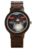 Brown Skeleton Watch
