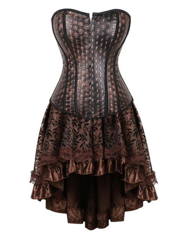 Brown Steampunk Dress