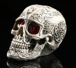 Celtic Statues Figurines | Skull Action