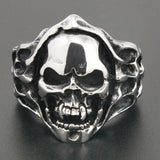 Cheap Metal Rings | Skull Action