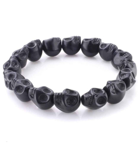 Cheap Skull Bead Bracelet