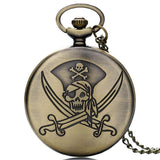 Cool Pirate Pocket Watch