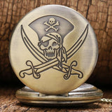 Cool Pirate Pocket Watch | Skull Action