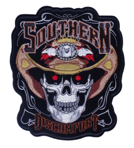 Cowboy Skull Patch