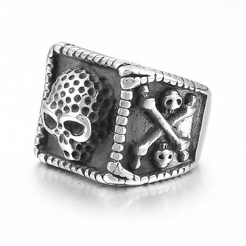 Crossbones Ring | Skull Action