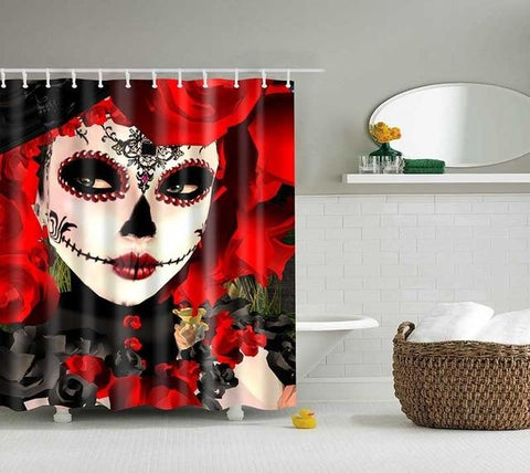 Day Of The Dead Shower Curtains