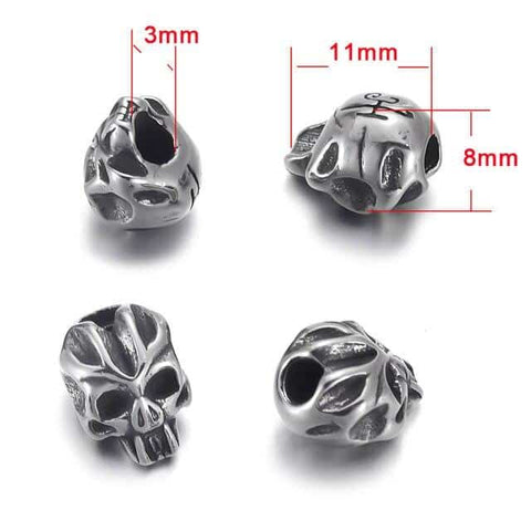 Demon Skull Beads | Skull Action