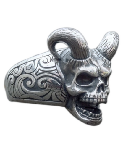 Devil Face Ring