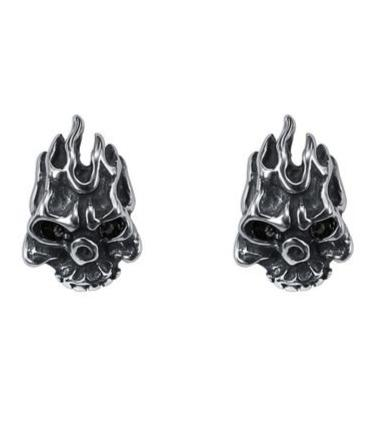 Devil Skull Earings