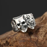 Double Face Ring | Skull Action