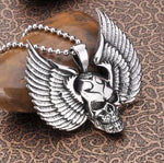Eagle Wings Necklace | Skull Action
