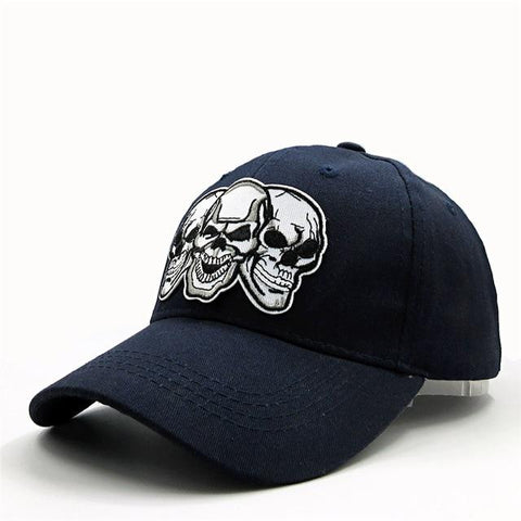 Embroidered Skull Cap | Skull Action