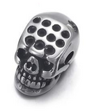 Faceted Skull Bead